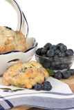 Blueberry Scone stock photos