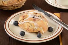 Blueberry Scone Royalty Free Stock Image