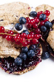 Blueberry scones Stock Image