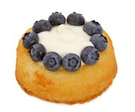 Blueberry shortcake Stock Photos
