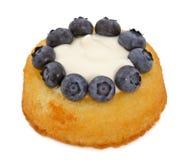 Blueberry shortcake Stock Photos
