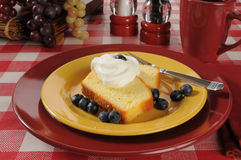 Blueberry shortcake Royalty Free Stock Photography