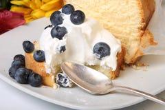 Blueberry shortcake Stock Photo
