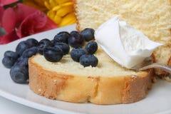 Blueberry shortcake Stock Photography