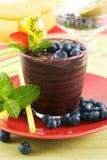 Blueberry smoothie Stock Photos