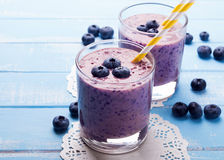 Free Blueberry Smoothie Royalty Free Stock Photography - 43165277