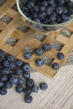 Blueberry is source of vitamins Royalty Free Stock Images