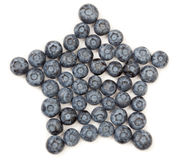Blueberry Star Stock Images