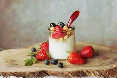 Blueberry Strawberry dessert Royalty Free Stock Photography