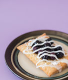 Blueberry Strudel Stock Image