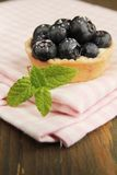 Blueberry tart Royalty Free Stock Photos