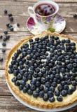 Blueberry tart Royalty Free Stock Photos