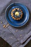 Blueberry tart Stock Image