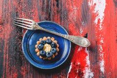 Blueberry tart Stock Photos