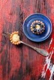 Blueberry tart Royalty Free Stock Image