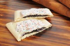 Blueberry toaster tarts Stock Photo