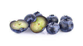 Blueberry on white background Royalty Free Stock Photography