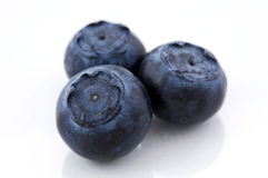 Blueberry on white Royalty Free Stock Photo