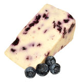 Blueberry White Stilton Cheese Stock Images
