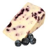 Blueberry White Stilton Cheese Stock Images