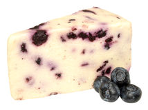 Blueberry White Stilton Cheese Stock Photo