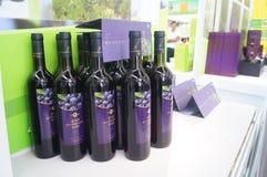 Blueberry wine Stock Images