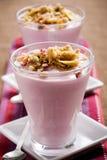 Blueberry yogurt Royalty Free Stock Photo