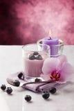 Blueberry Yogurt Royalty Free Stock Image