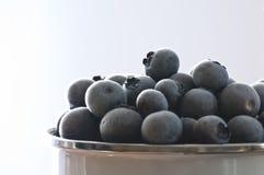 Blueberrys congelados Foto de Stock Royalty Free