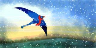 bluebird Obraz Royalty Free