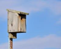 Bluebird Nesting Box royalty free stock images