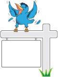 bluebird szczęśliwy Zdjęcie Stock