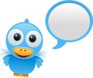 Bluebird talking Royalty Free Stock Image