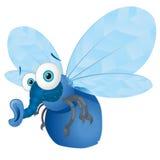 Bluebottle-Fliege vektor abbildung