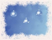Free BlueChristmas Baubles Royalty Free Stock Photos - 3210158