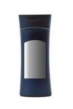 bluedarkbehållarekräm Arkivbild