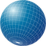 Blueglobe Stock de ilustración