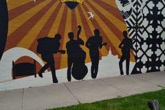 Bluegrass zespół Obrazy Stock