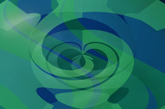 Bluegreen Abstract Background Royalty Free Stock Photography