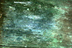 Bluegreen Grungy Background Stock Photos