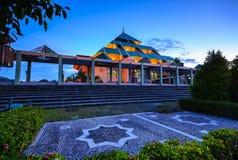 BlueHour Landscape Wonderfull Batam Indonesia Stock Photography
