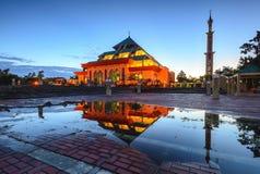 BlueHour Reflection Wonderfull Batam Indonesia Royalty Free Stock Image