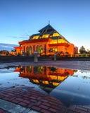 BlueHour Reflection-2 Wonderfull Batam Indonesia Stock Images