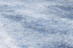 BlueIce. Blue and white image of hard cold cracked ice Royalty Free Stock Image