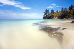Blueish view at Tips of borneo Royalty Free Stock Images
