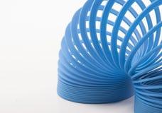 Bluel Toy Spring Lizenzfreie Stockbilder