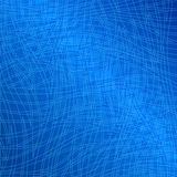 Bluel waves pattern. Royalty Free Stock Images