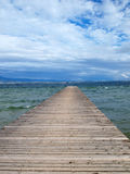 bluen clouds pirskyen Fotografering för Bildbyråer
