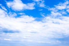 bluen clouds skyen Royaltyfri Fotografi