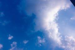 bluen clouds skyen Royaltyfri Foto